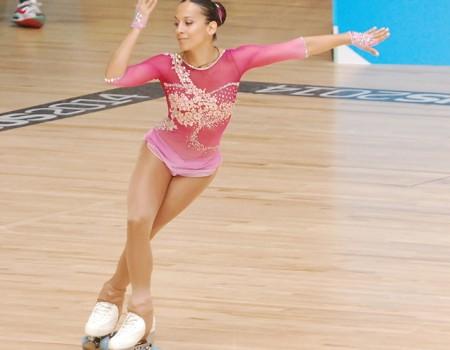 Aida Vieites, quinta en el programa corto del Mundial Reus 2014