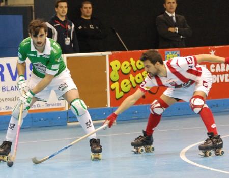 El HC Liceo cayó en la semifinal de la Copa del Rey ante el CP Vic (1-2)