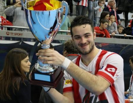 El coruñés David Torres, campeón de la Copa del Rey con el CP Vic