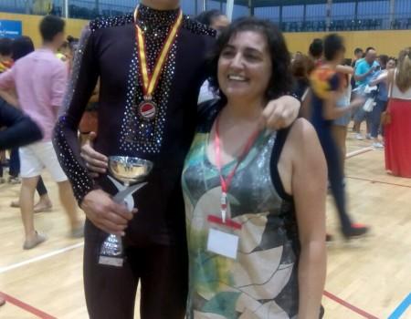 Medalla de bronce para Javier Martínez, del Club CARPA-Viqueira, en el Campeonato de España Cadete de Patinaje Artístico