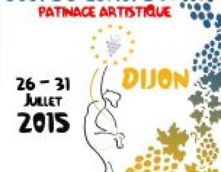 Cuatro gallegos participan desde hoy en la Copa de Europa de Patinaje Artístico en Dijon (Francia)