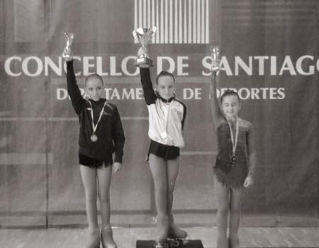Resultados del Campeonato Gallego de Patinaje Libre y Parejas de Danza (Benjamín a Infantil)