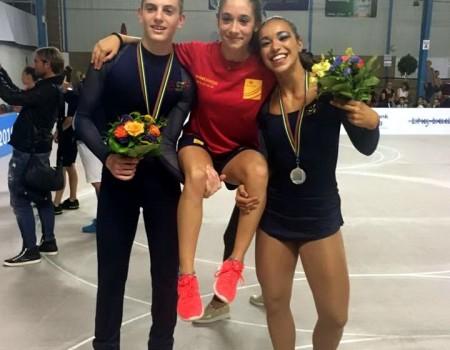 Brillante balance de los gallegos en el Europeo de Patinaje Artístico con dos medallas