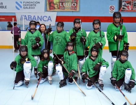 Dominio lucense trala Primeira Sede da Liga Galega de Hóckey Liña nas categorías Infantil e Feminina