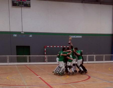 O HC Liceo, campión da Copa Federación Senior Masculina de Hóckey sobre Patíns