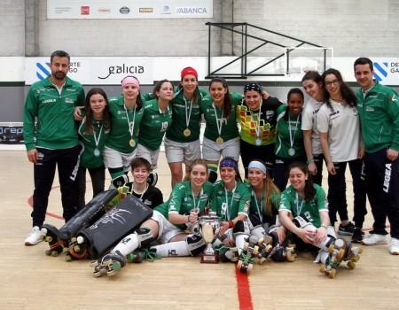 A Final a 4 Senior Feminina de Hockey sobre Patíns deixa ao HC Liceo como campión galego