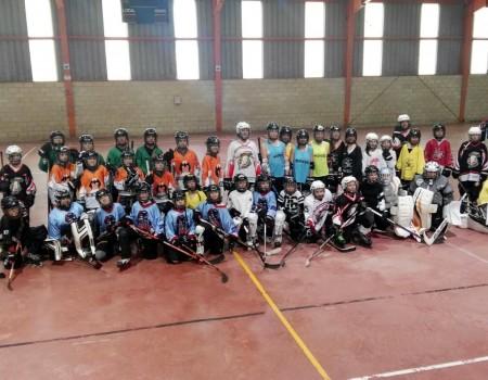 Positivo balance tras la primera jornada de Tecnificación de Hockey Línea desarrollada este domingo en Ourense