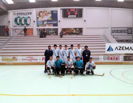 A Selección Galega rematou a súa participación no XII Torneio dos Reis de Hóckey sobre Patíns