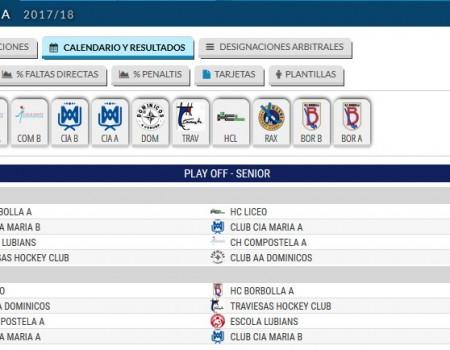 Definidos os equipos que xogarán a Final a 4 da Liga Autonómica Senior Masculina de Hóckey sobre Patíns