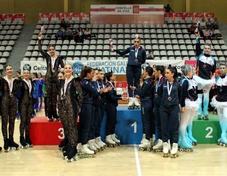 Dominio gallego en la tercera edición del Trofeo Internacional Concello de Vigo de Grupos Show celebrado el pasado fin de semana