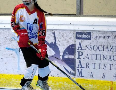 La gallega Laura Cernadas, campeona del mundo Júnior por segunda vez con la selección española de Hockey Línea