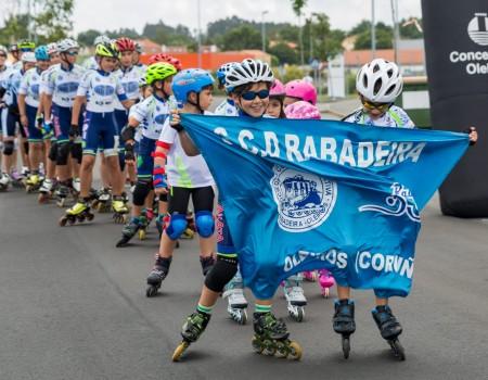 Gran participación en el XXI Trofeo Concello de Oleiros y en el XXIV Trofeo SCD Rabadeira de Patinaje de Velocidad celebrados en Iñás el pasado fin de semana