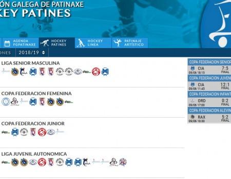 Vanse facendo públicos os calendarios das competicións autonómicas de Hóckey sobre Patíns