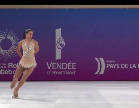Nadia Iglesias de Salvador, cuarta en el Campeonato del Mundo de Patinaje Artístico en la modalidad libre