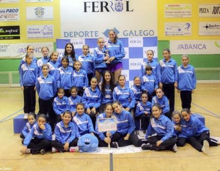 Celebrada en Ferrol a III Fase de Categoría Rexional e as Probas de Acceso de Patinaxe Artística con máis dun cento de participantes