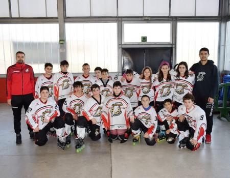 CP Lóstregos inició en Bilbao la Liga Nacional Oro Alevín de Hockey Línea