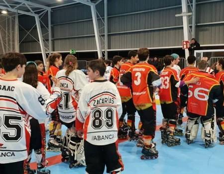 C. P. Lóstregos se queda fuera del grupo que luchará por el título en la Liga Oro Infantil de Hockey Línea