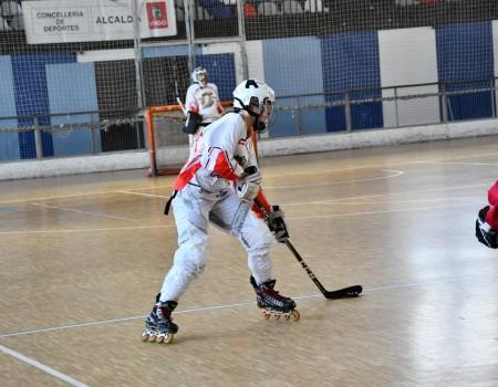 Catuxa Castro Sas (C. P. Lóstregos), convocada para una sesión de control de los equipos nacionales de Hockey Línea