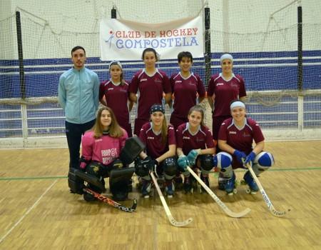 Finalizou a Copa Federación de Hóckey sobre Patíns co C. H. Compostela logrando o título