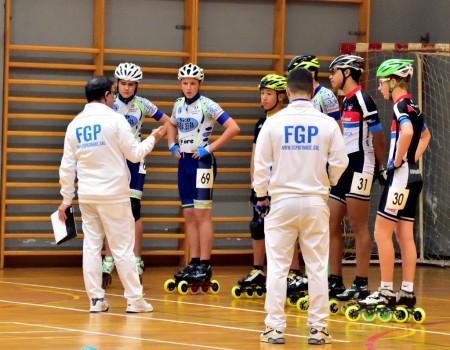 Resultados do Campionato Galego Indoor de Patinaxe de Velocidade