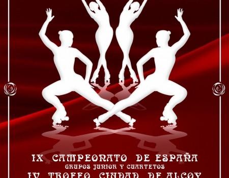 Avance IX Campeonato de España de Grupos Show Júnior y Cuartetos