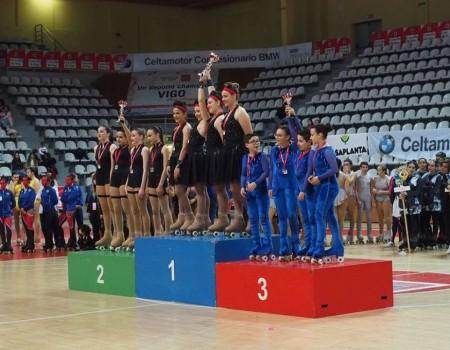 Los grupos gallegos dominan el IV Torneo Internacional Ciudad de Vigo de Grupos Show