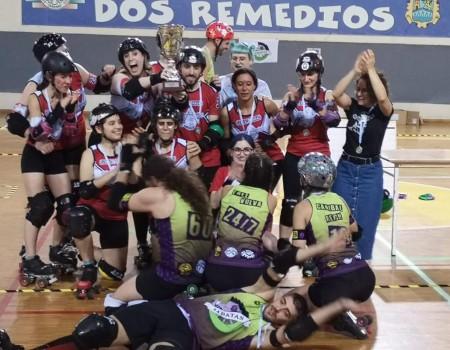 Sereas Bravas Roller Derby Vigo, campión galego de Roller Derby