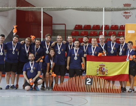 El vigués Pablo Alonso Cameselle, plata en Roller Derby con España en los World Roller Games 2019