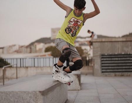 O galego César Fernández, do clube Patinatour, participará no Campionato de España de Roller Free Style este fin de semana