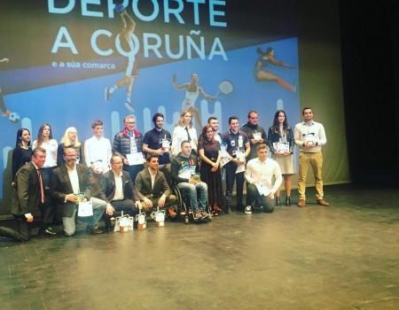 A Federación Galega de Patinaxe, premiada na Gala do Deporte de A Coruña
