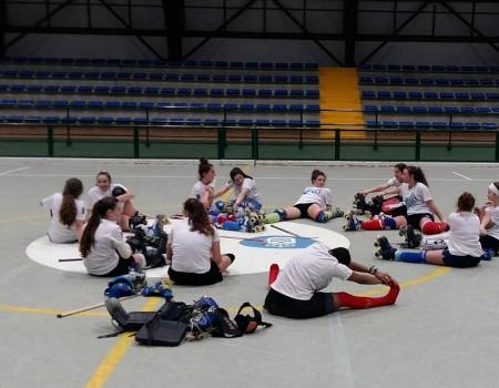 Adestramento de control feminino sub 17 de Hóquei Patíns este domingo en Órdes