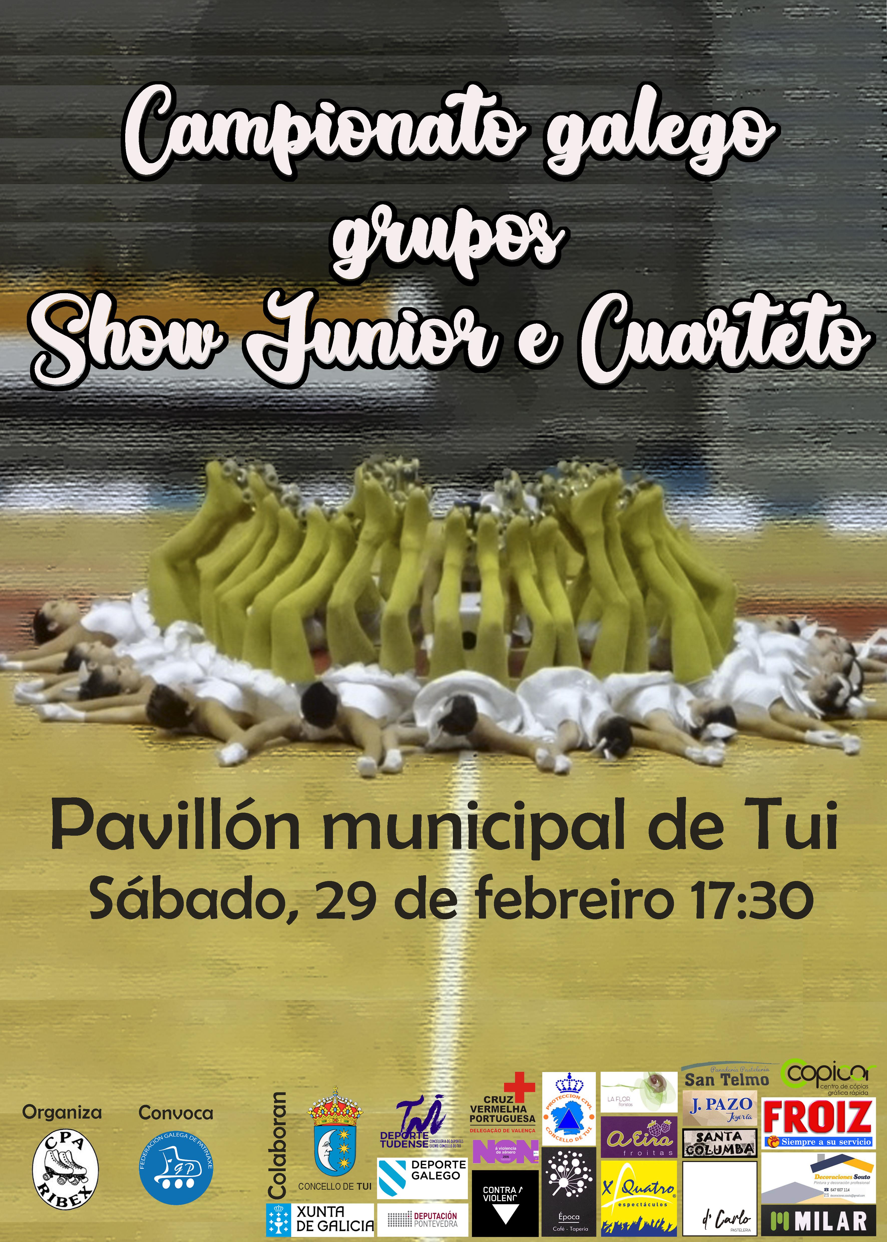 Cartel campeonato gallego patinaje 2020 definitivo