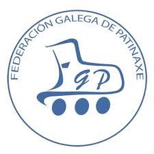 Logotipo de la Federación Gallega de Patinaje