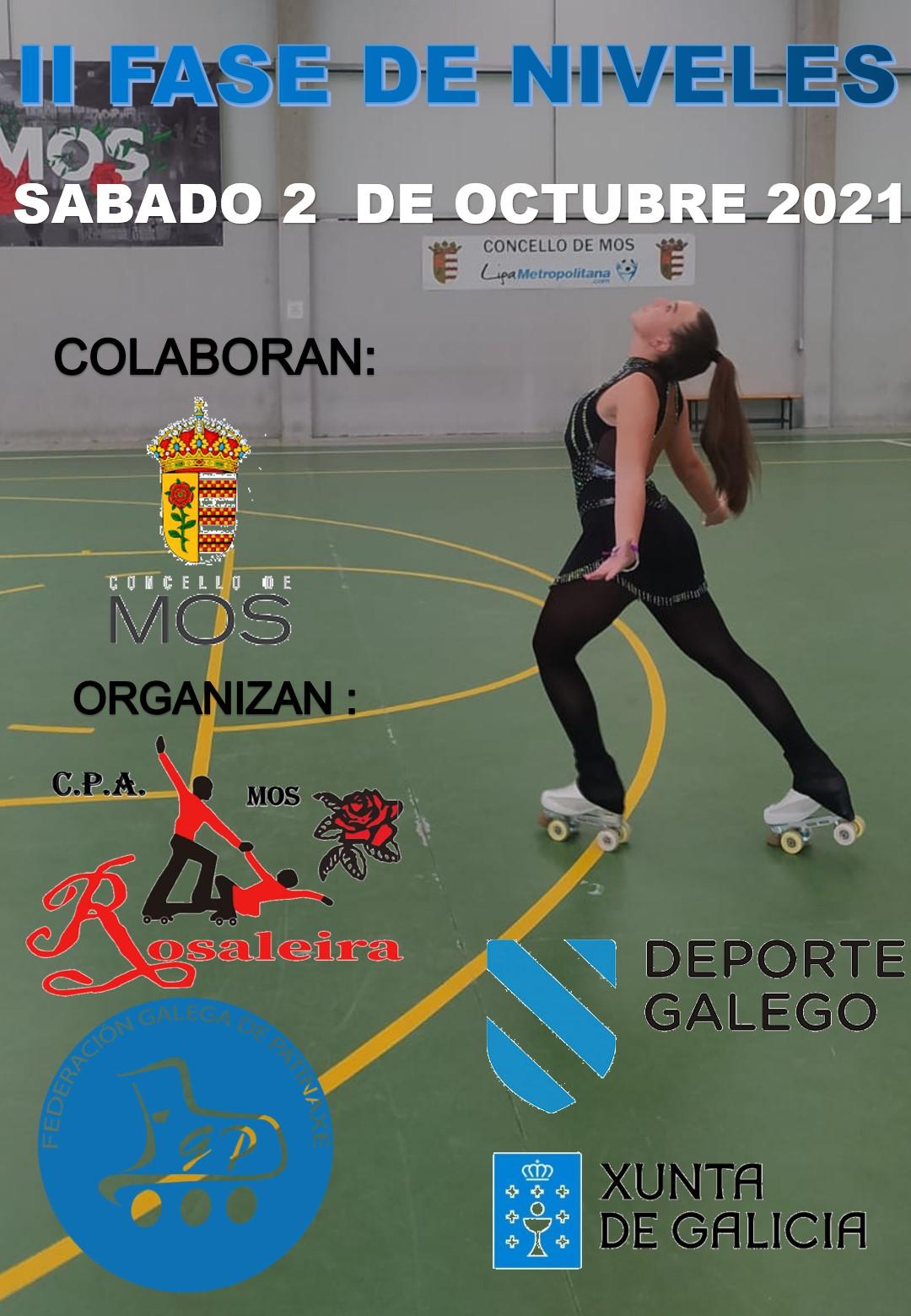 Cartel II Fase Niveles 4-10 Pontevedra