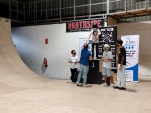 IV Parada Campeonato Gallego Street Skate Junior Podium Amateur Masculina