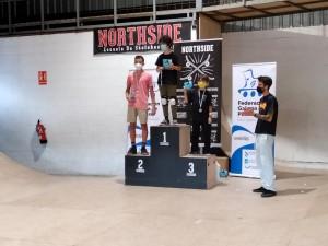 IV Parada Campeonato Gallego Street Skate Junior Podium Media Masculina